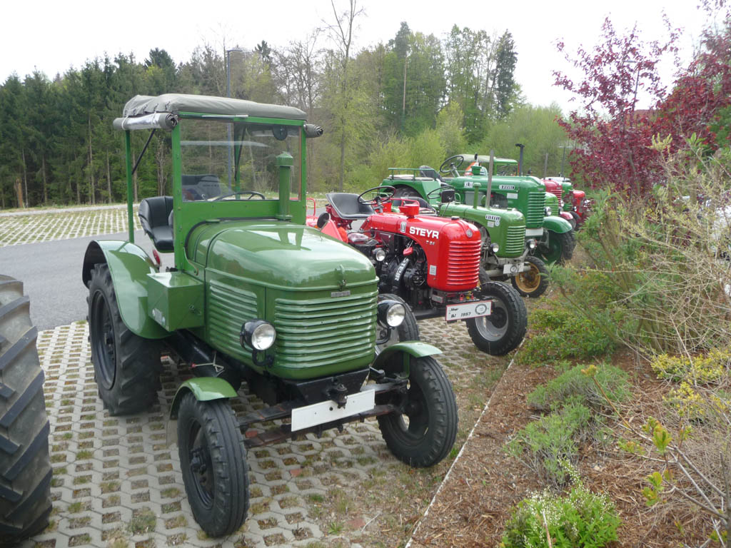 Traktoroldtimerclub Auswinterungsfahrt 2017