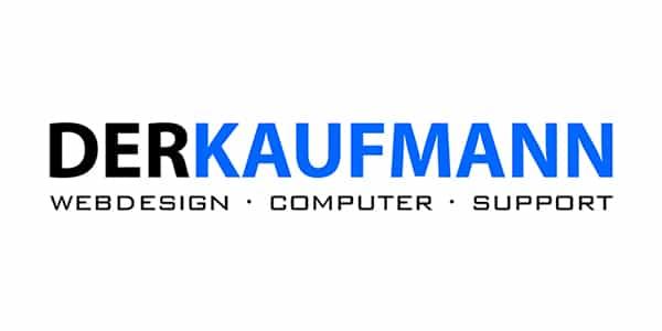 Logo DERKAUFMANN, Webdesign, Computer, Computersupport